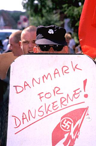 dansk mand med horn i panden